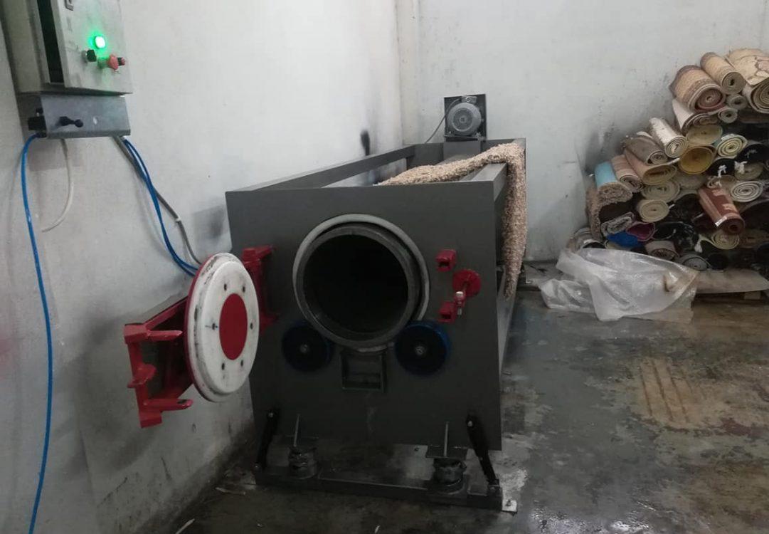 φυγοκεντρικό μηχάνημα χαλιών, ταπήτων από την carpetmachines.gr, Τηλέμαχος Κατσέλης